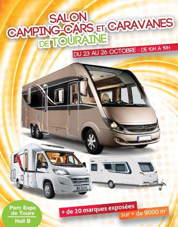 Azur salon du camping car de touraine 2015 for Salon de auto 2015